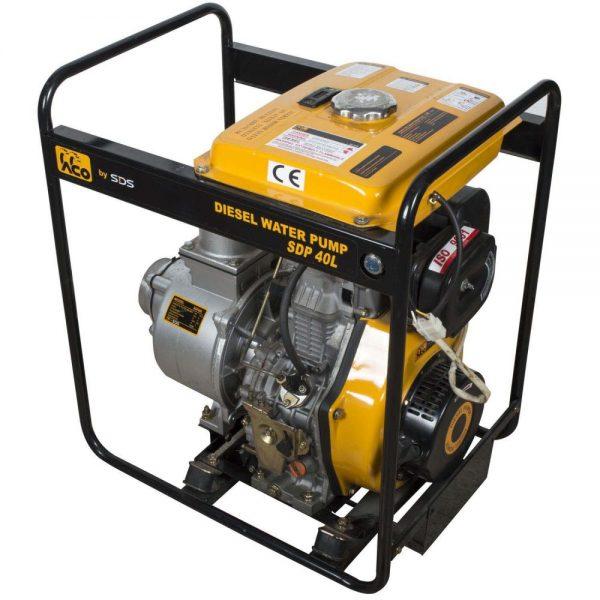 Motobomba Diesel 4'; Arranque Manual Sdp40L-SDS POWER - El Cuarto de Herramientas