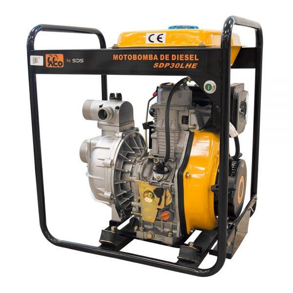 Motobomba Diesel 3'; Alta Presion Sdp30He-SDS POWER - El Cuarto de Herramientas