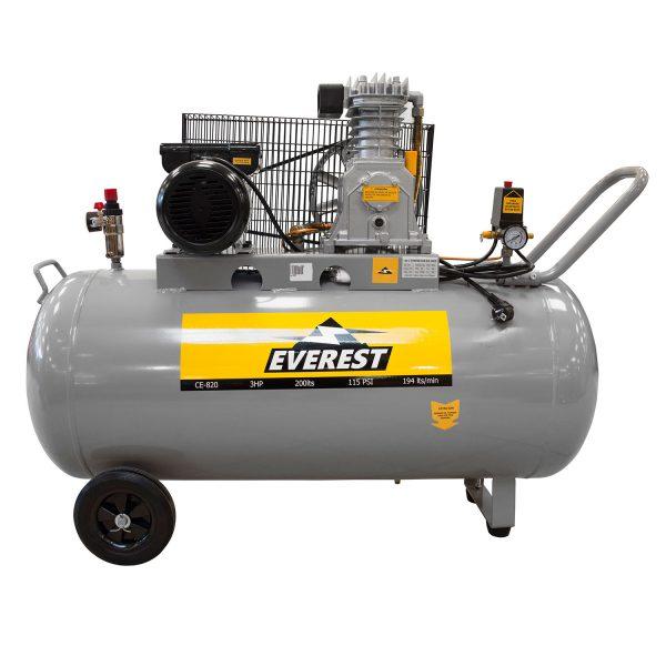 Compresor 3Hp 200 Litros 220V Ce-820-EVEREST - El Cuarto de Herramientas