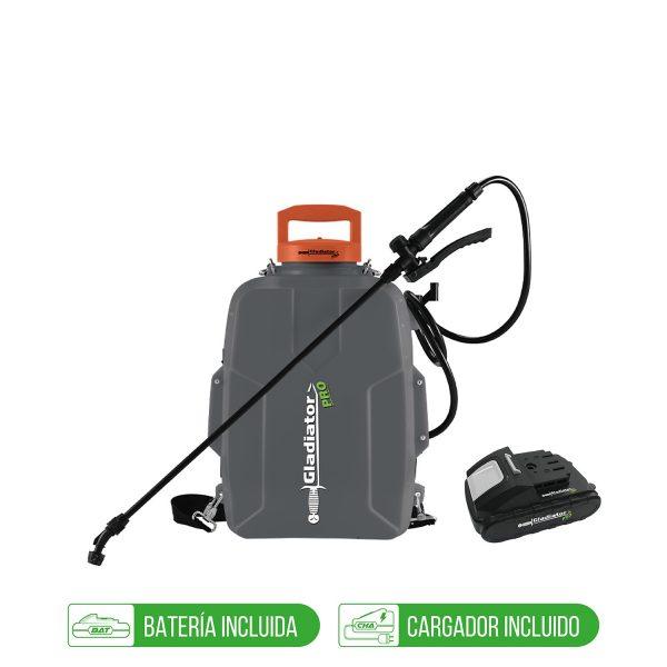 Fumigador Inalambrico 18V + 1 Bat 2Ah + Cargador-GLADIATOR - El Cuarto de Herramientas