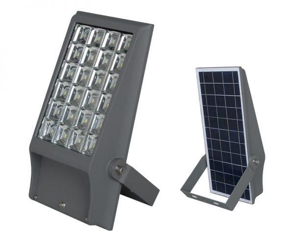 Foco Led Solar 8w 12w LED 24PCS 6000K-6500K - El Cuarto de Herramientas