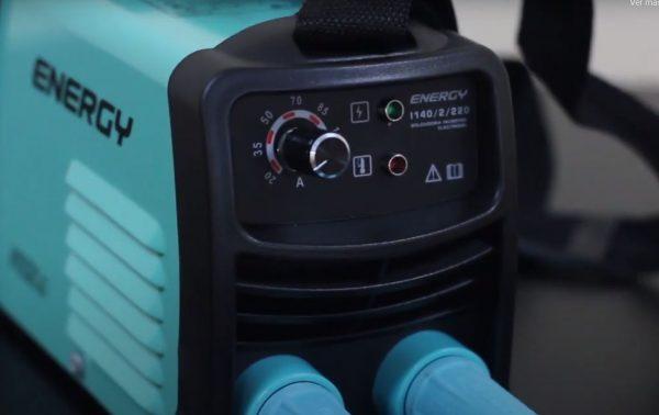 soldadora energy 140 amp